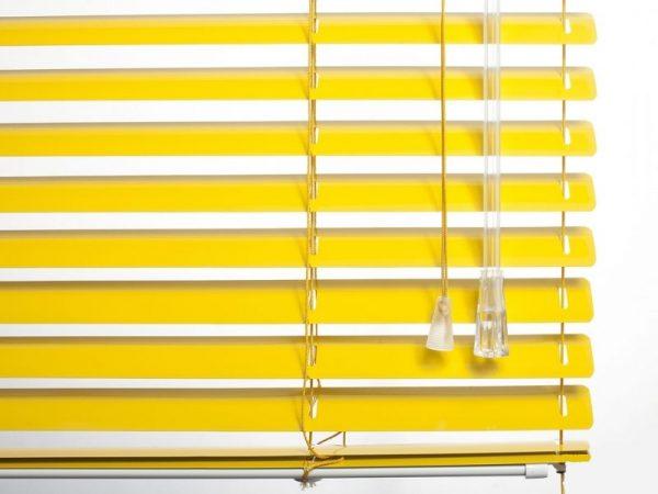 25mm_Yellow_Aluminum_Venetian_Blinds_colori