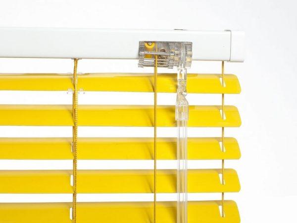 25mm_Yellow_Aluminum_Venetian_Blinds_colori_mechanism
