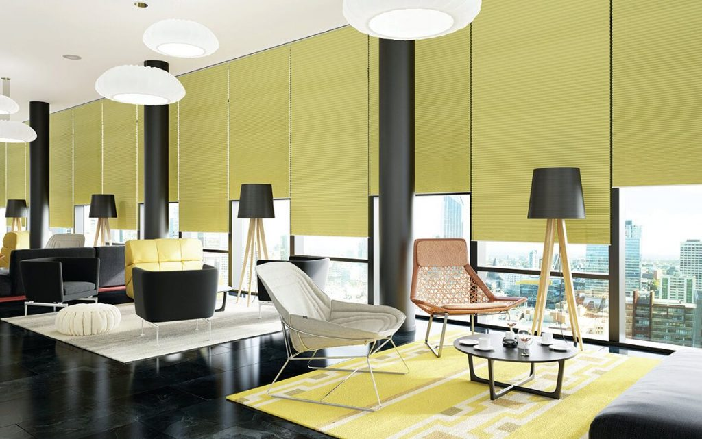 Colori_Pleated_Blind_Green