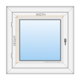 How to Measure Blinds Width Height on uPVC WINDOW