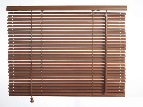 COLORI_25mm_slat_wooden_venecian_blinds_Real_Wood_Blind_Brown_color